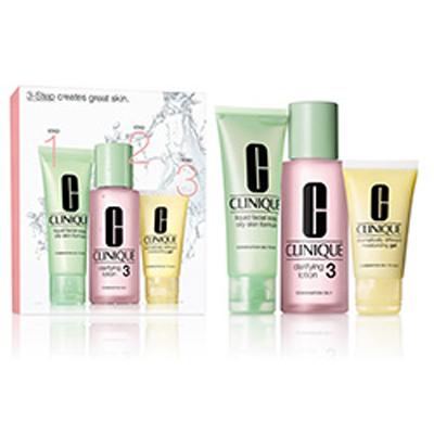 Cofanetto Clinique - 3 Step pelle da normale ad oleosa