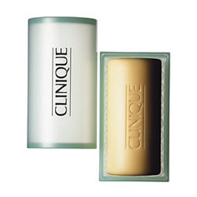 Clinique Facial Soap With Dish Extra Mild 100 gr per pelle tipo 1 da molto arida ad arida