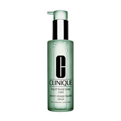 Clinique Liquid Facial Soap Extra Mild con erogatore 200 ml per pelle tipo 1 da molto arida ad arida