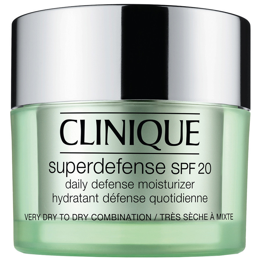 Clinique Superdefense SPF20 75 ml per pelli tipo 1, 2 molto secche, secche, miste