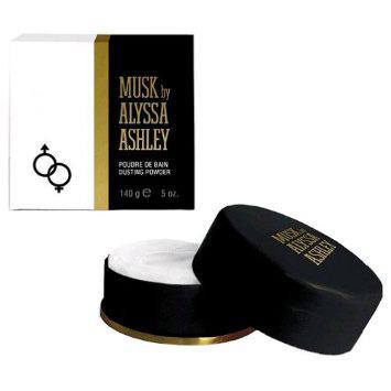 Alyssa Ashley Musk Dusting Powder 140 gr. ( talco profumato )