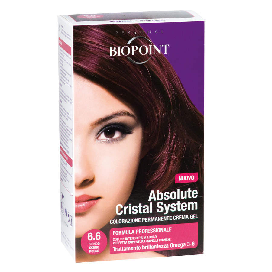 Biopoint Absolute Cristal System Biondo Scuro Rosso