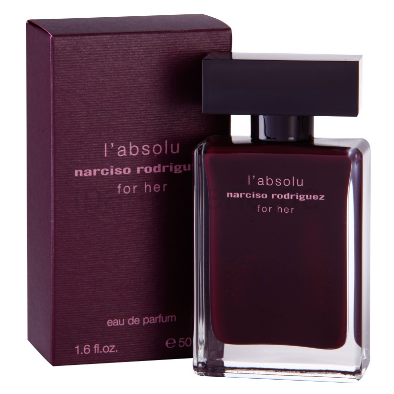 narciso rodriguez for her l absolu eau de parfum 50 ml spray. Black Bedroom Furniture Sets. Home Design Ideas