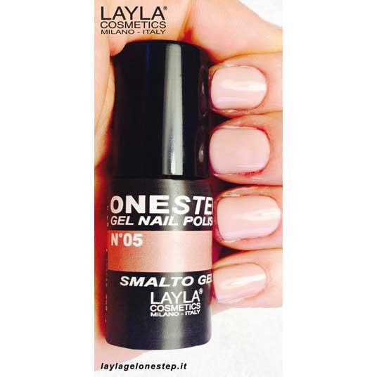 Layla One Step Gel Nail Polish n. 06 sunset