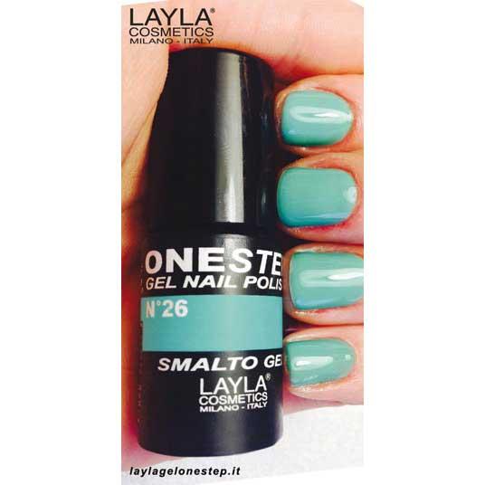 Layla One Step Gel Nail Polish n. 26 tea time