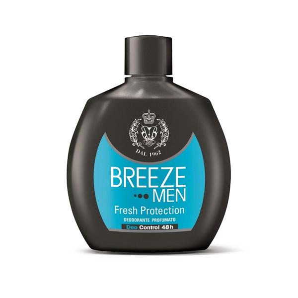Breeze Men Deodorante Squeeze No Gas Fresh Protection 48H 100 ml