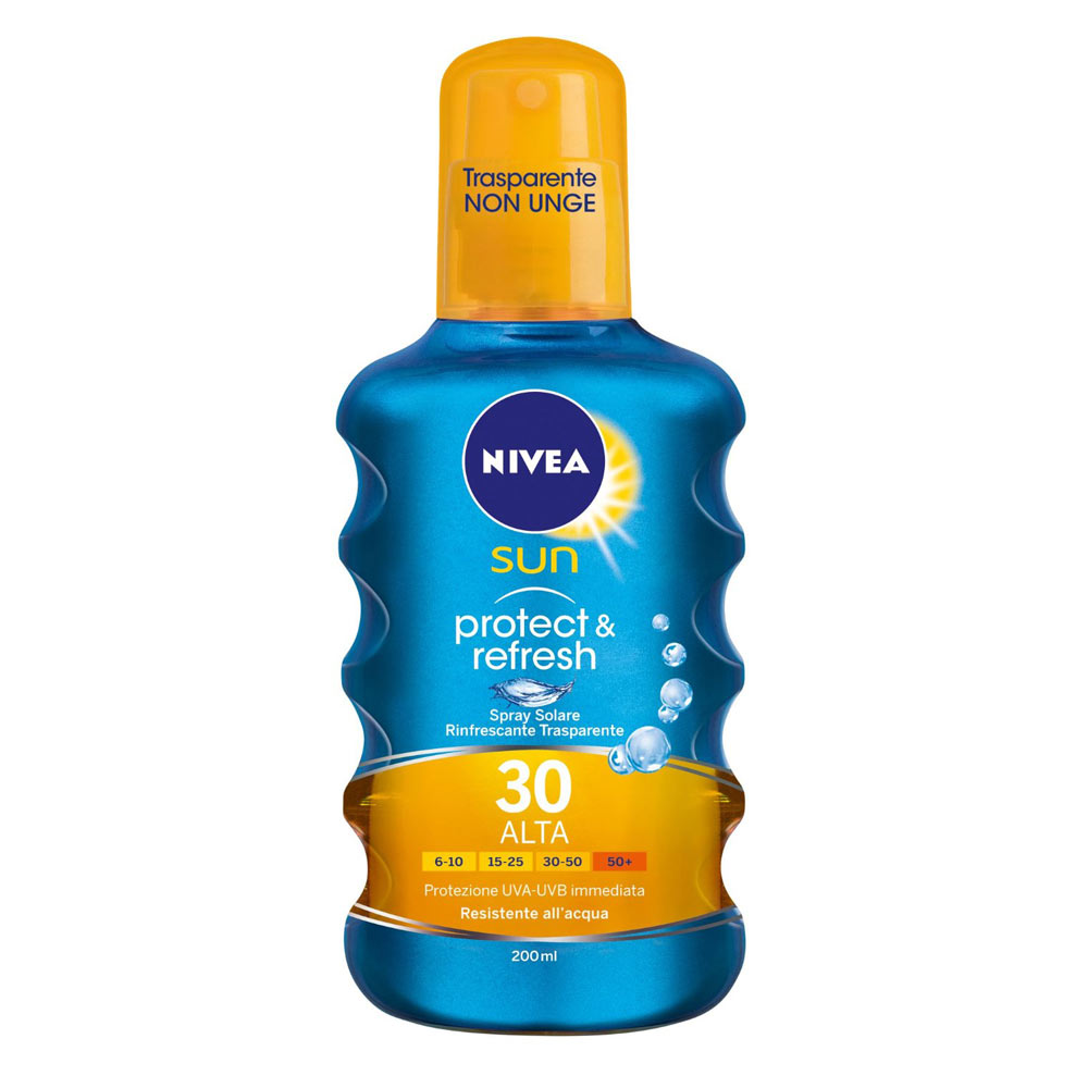 Nivea Sun Protect & Refresh Spray Solare Invisible Protection FP 30 200 ml