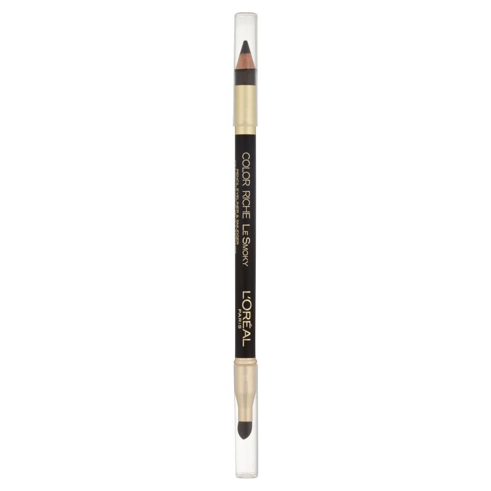 L Oreal Color Riche Le Smoky n. 201 black velour