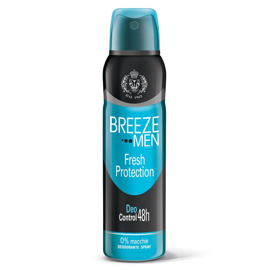 Breeze Men Fresh Protection Deodorante Spray 150 ml