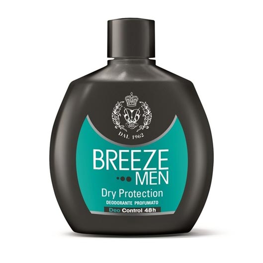Breeze Men Deodorante Squeeze No Gas Dry Protection 48H 100 ml