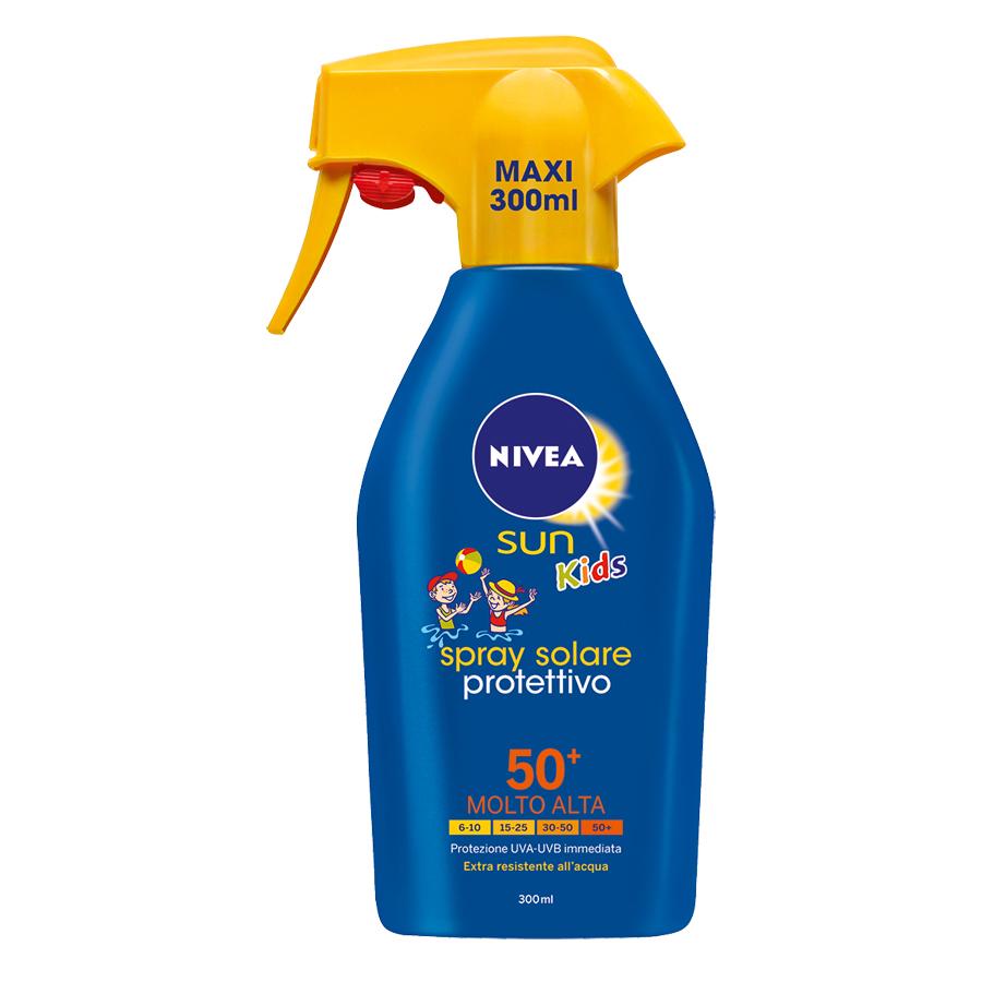 Nivea Sun Kids Spray Solare Protettivo SPF 50+ 300 ml