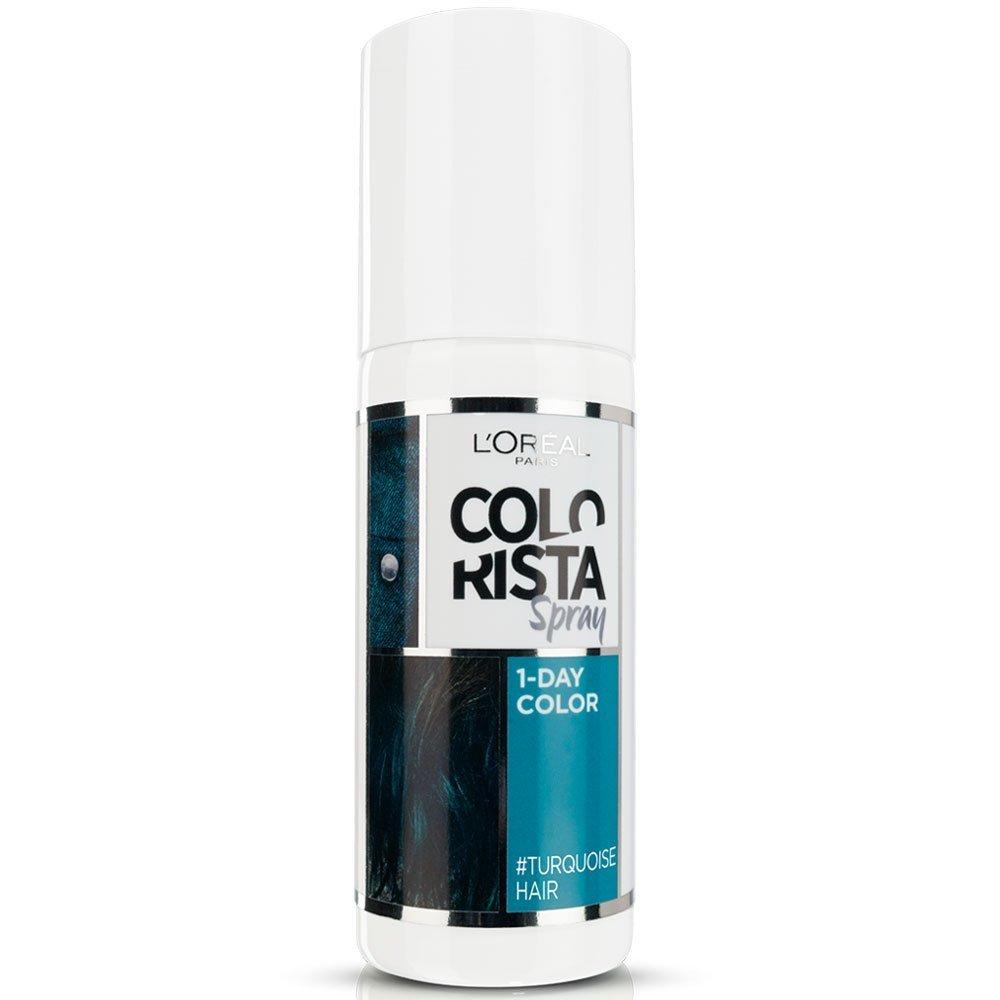 L Oreal Colorista Spray Colore 1 Giorno 75 ml ottanio - turquoise