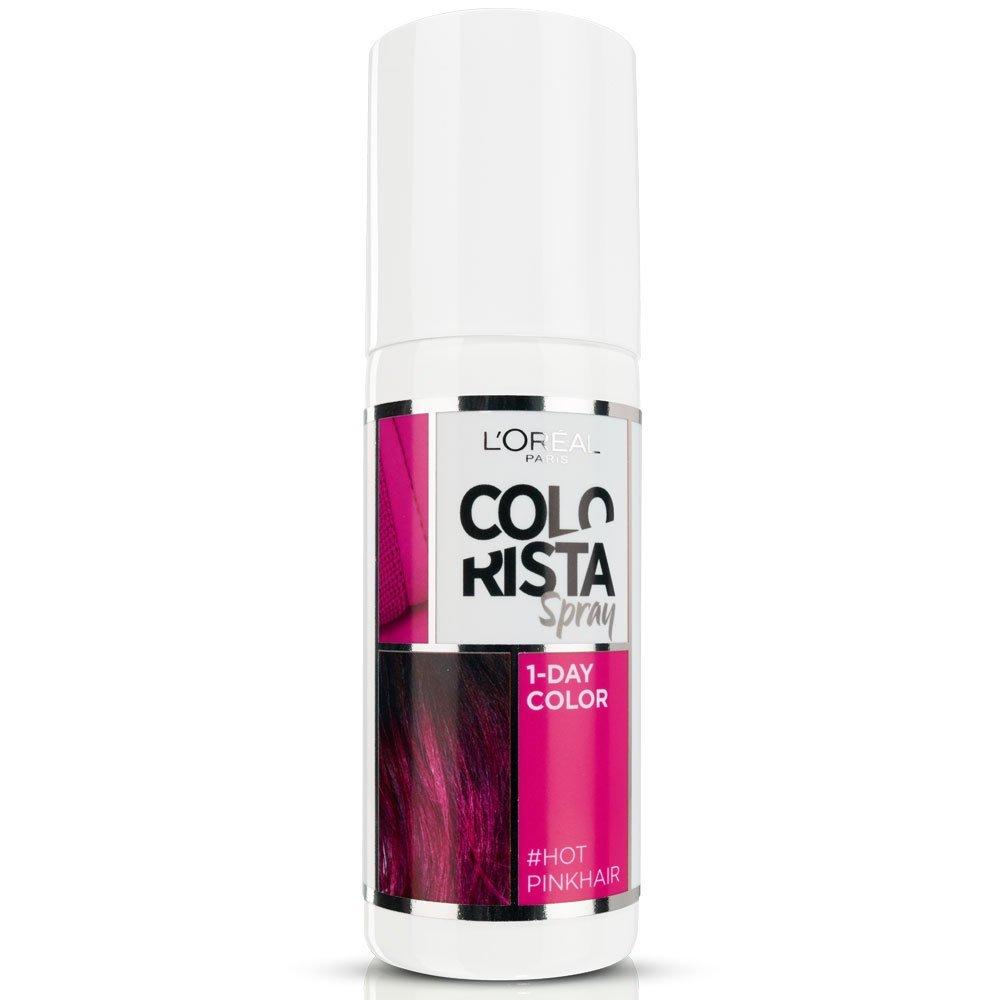 L Oreal Colorista Spray Colore 1 Giorno 75 ml rosa acceso - hot pink