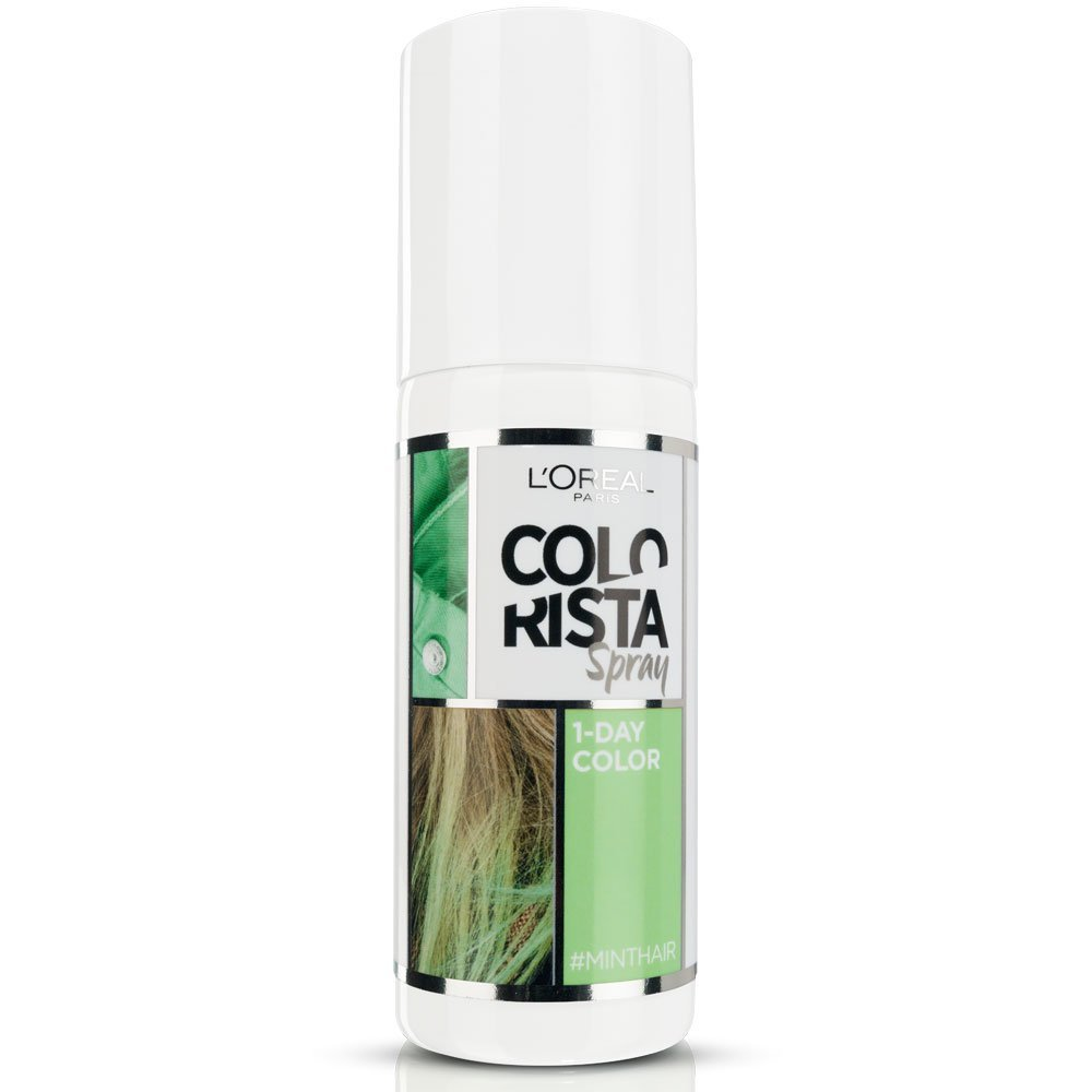 L Oreal Colorista Spray Colore 1 Giorno 75 ml menta - mint