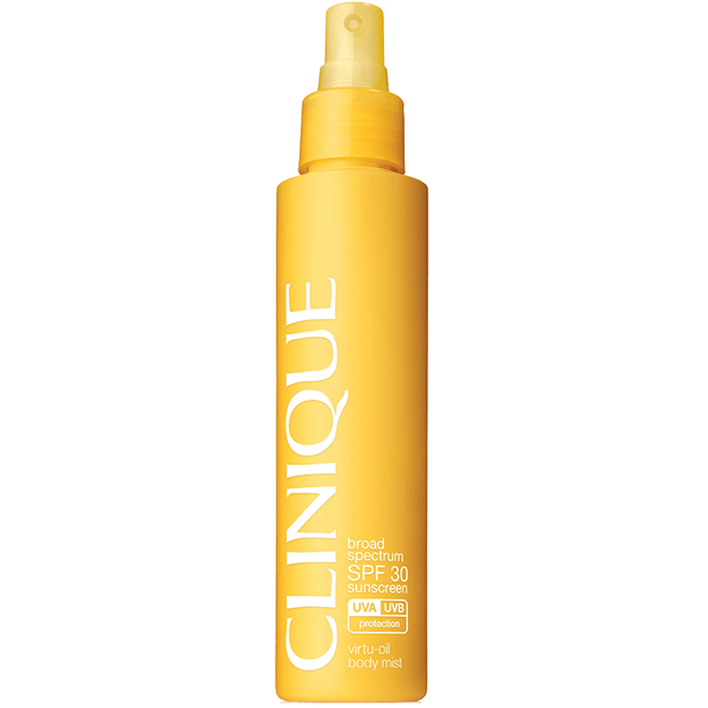 Clinique Broad Spectrum SPF 30 Sunscreen Virtu Oil Body Mist 144 ml
