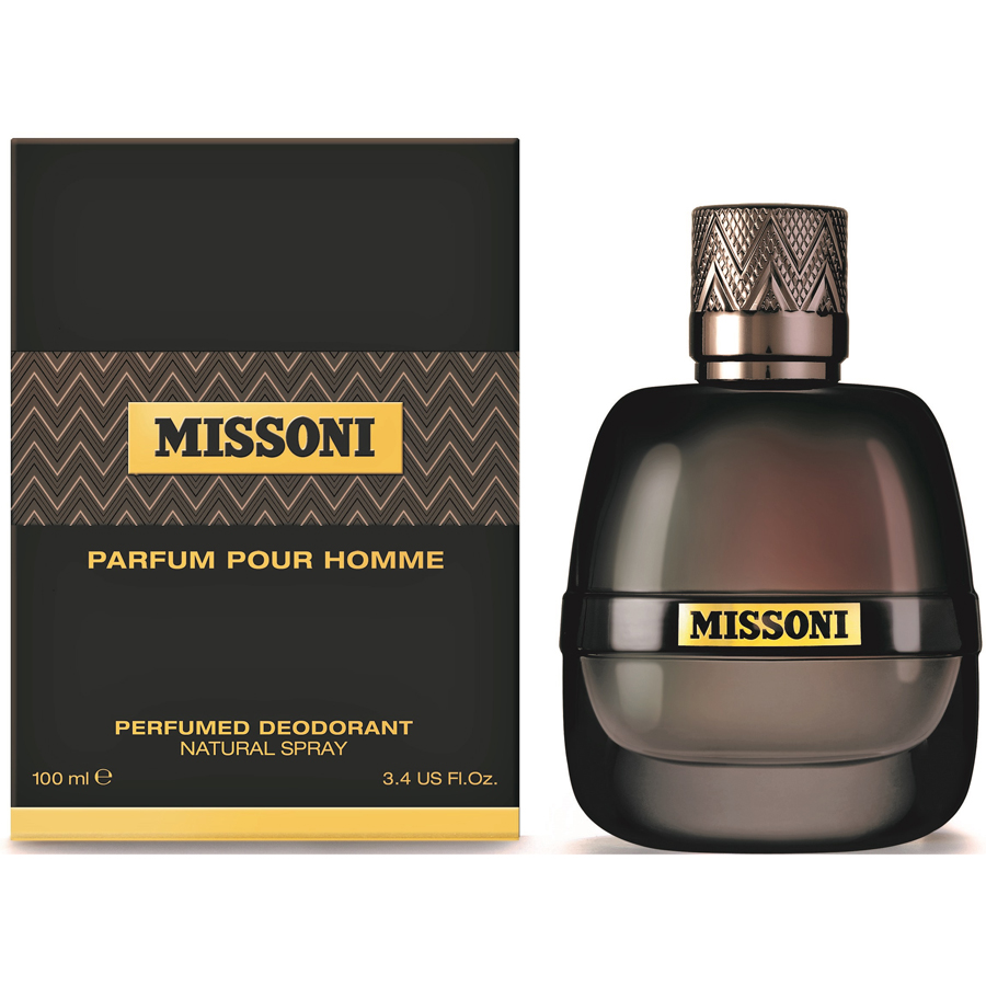 missoni parfum pour homme perfumed deodorant spray 100 ml. Black Bedroom Furniture Sets. Home Design Ideas