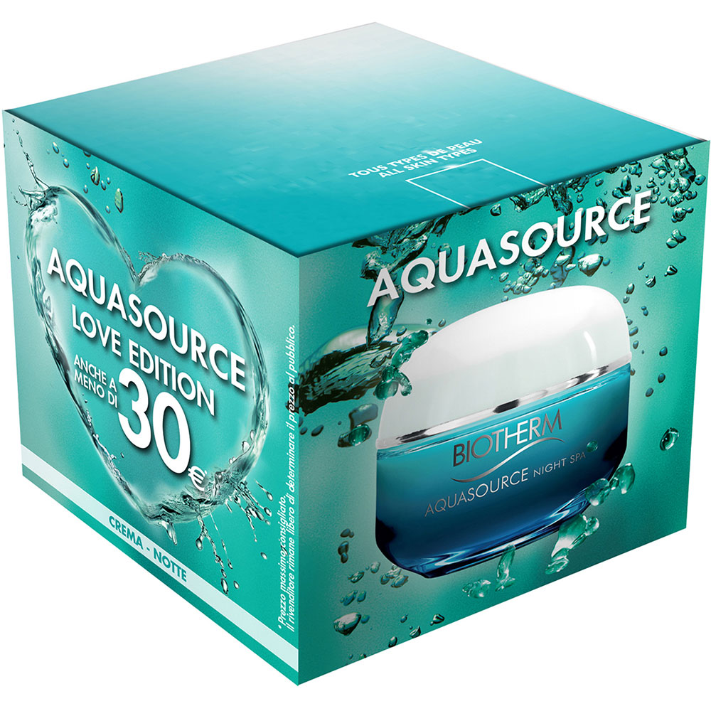 Biotherm Aquasource Night Spa Love Edition 50 ml