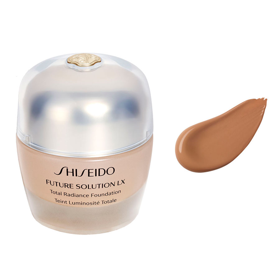 Shiseido Future Solution LX Total Radiance Foundation rose 4