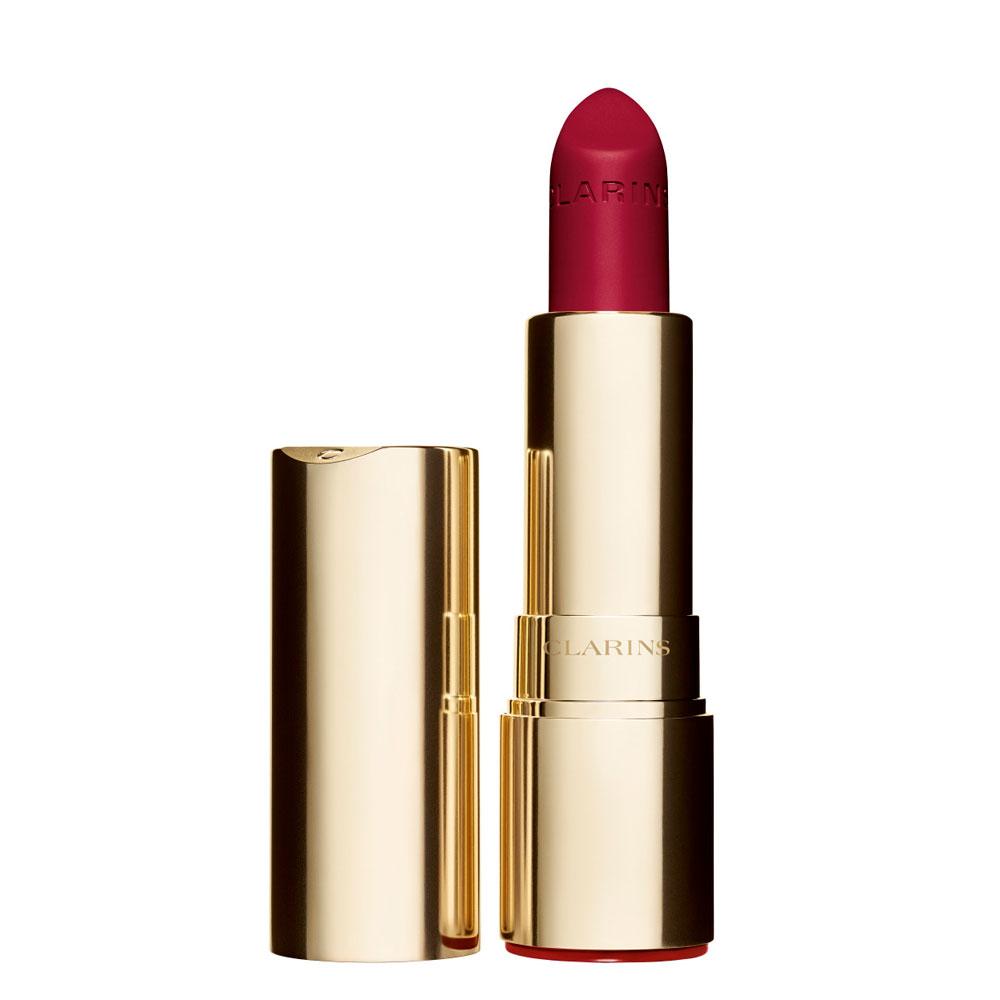 Clarins Joli Rouge Velvet n. 754v deep red