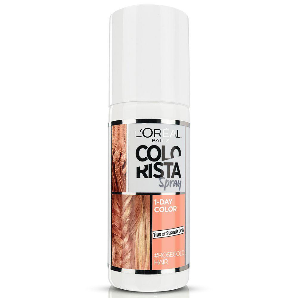 L Oreal Colorista Spray Colore 1 Giorno 75 ml rosa oro