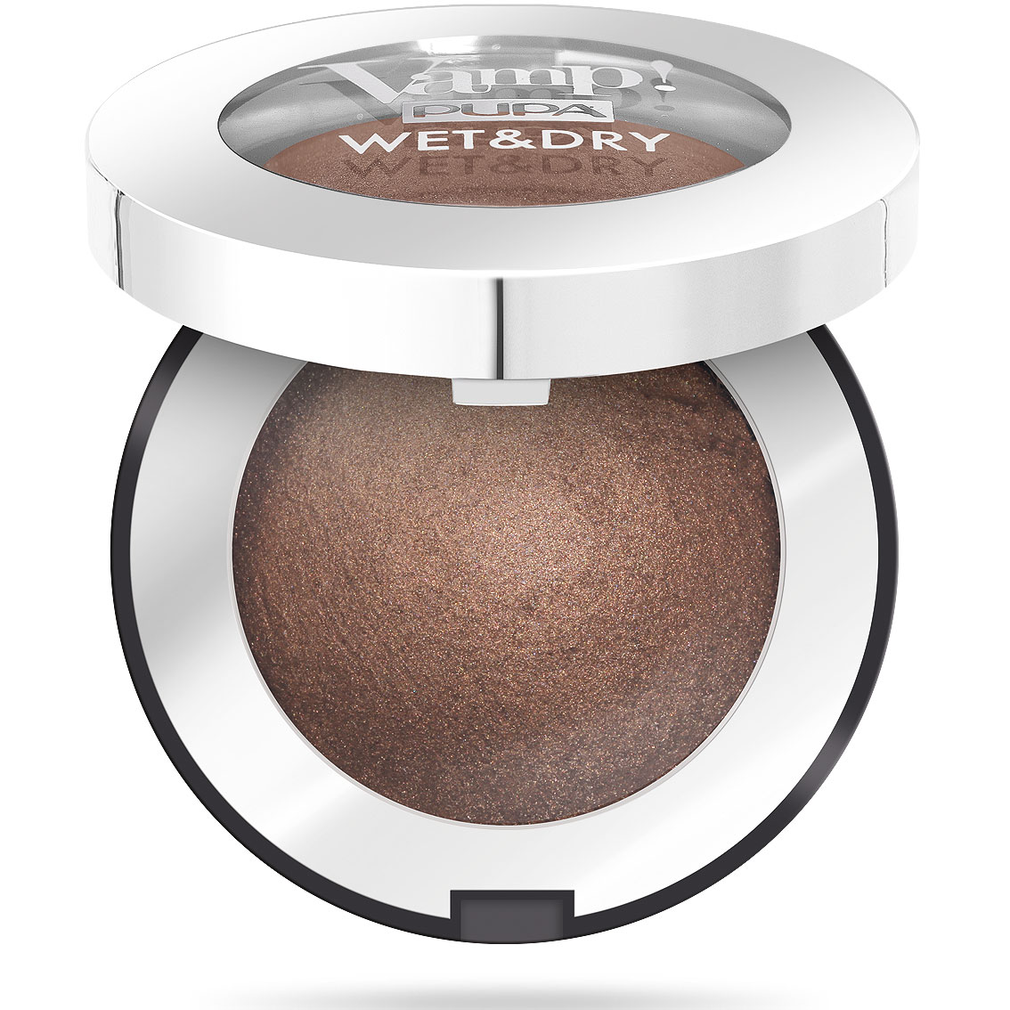 Pupa Vamp! Wet & Dry Ombretto n. 105 warm brown
