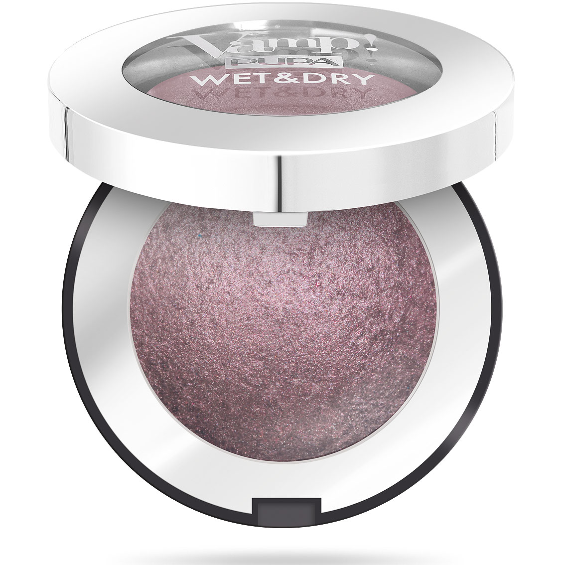 Pupa Vamp! Wet & Dry Ombretto n. 204  intense mauve