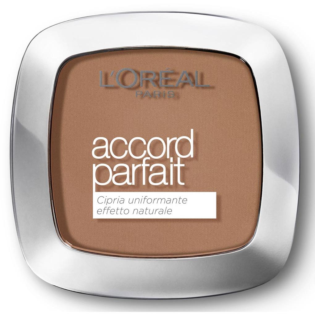 L Oreal Accord Parfait Cipria n. 8D / 8W golden capuccino