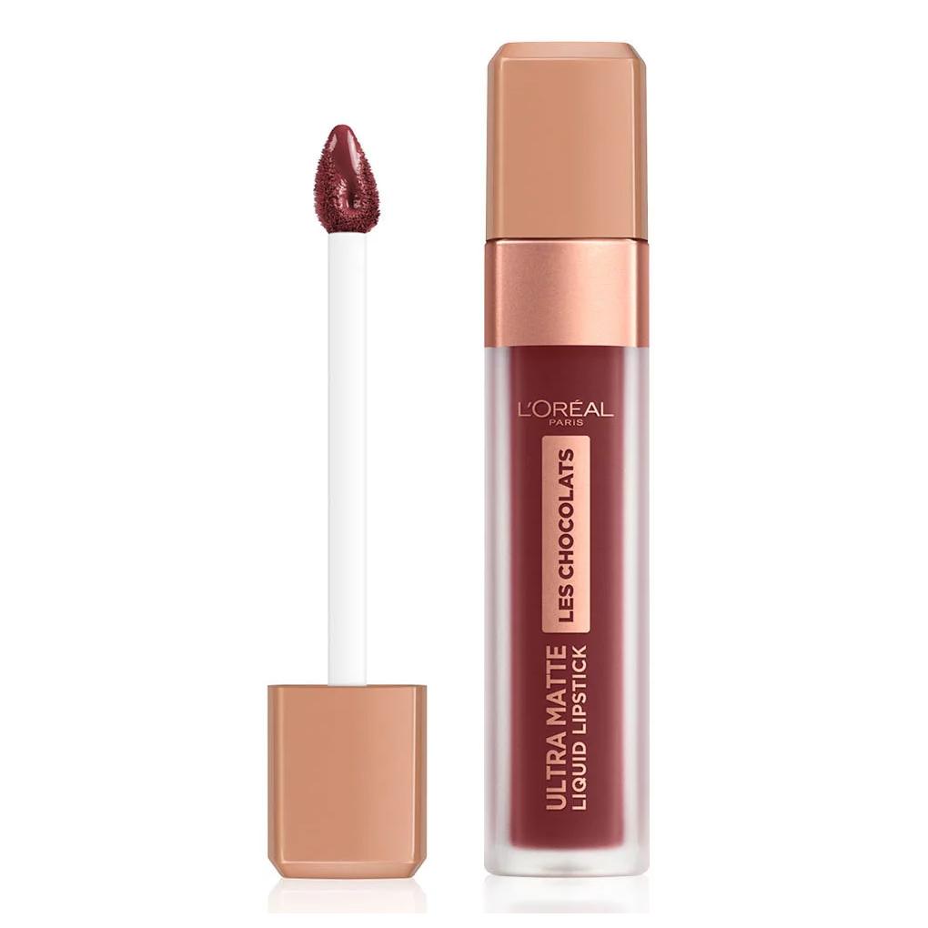 L Oreal Ultra Matte Liquid Lipstick Les Chocolates n. 868 cacao crush