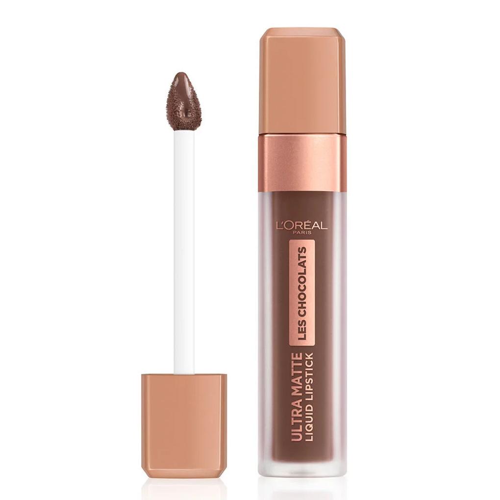 L Oreal Ultra Matte Liquid Lipstick Les Chocolates n. 856 70% yum