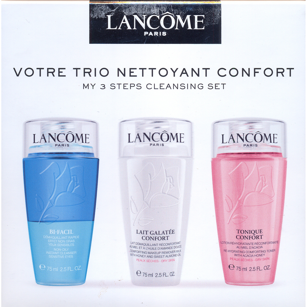 Cofanetto Lancome Votre Trio Nettoyant Confort