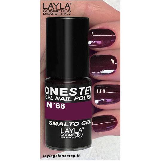 Layla One Step Gel Nail Polish n. 68 Chasing Passion