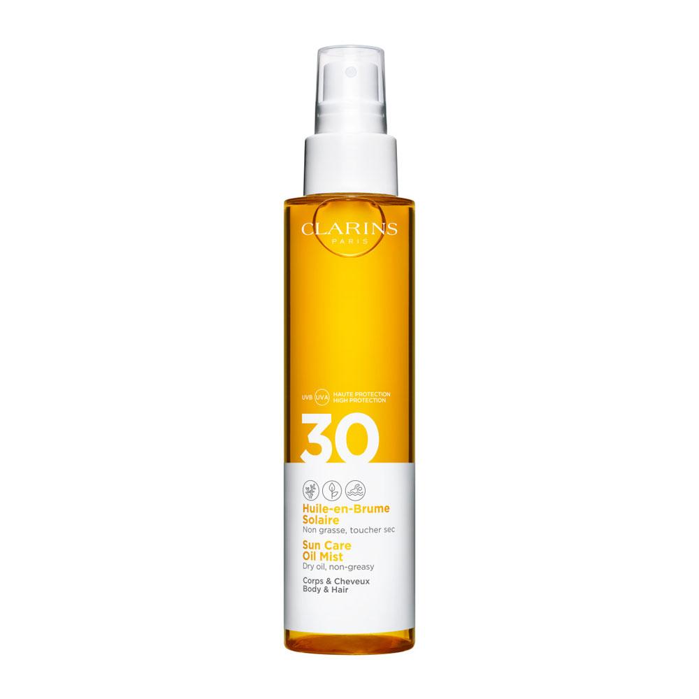 Clarins Huile en Brume Solaire Corps & Cheveux SPF30 150 ml