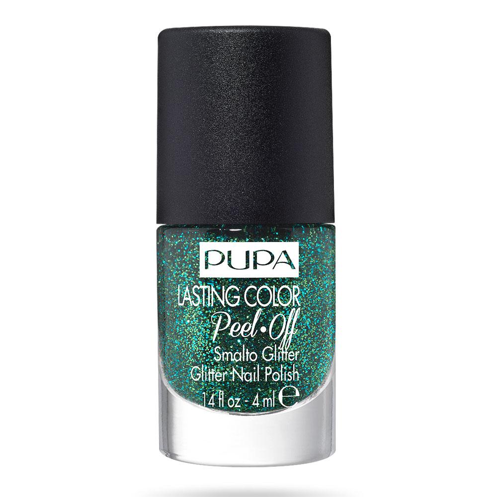 Pupa Lasting Color Peel Off Smalto Glitter n. 009 go on green