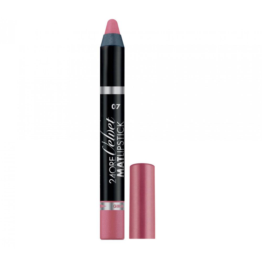 Deborah 24 Ore Velvet Mat Lipstick n. 07 rose