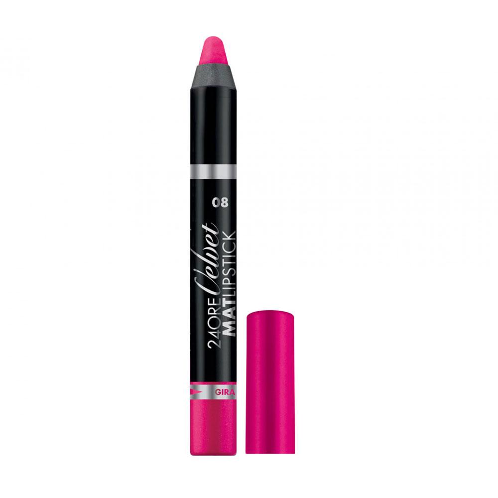 Deborah 24 Ore Velvet Mat Lipstick n. 08 coral