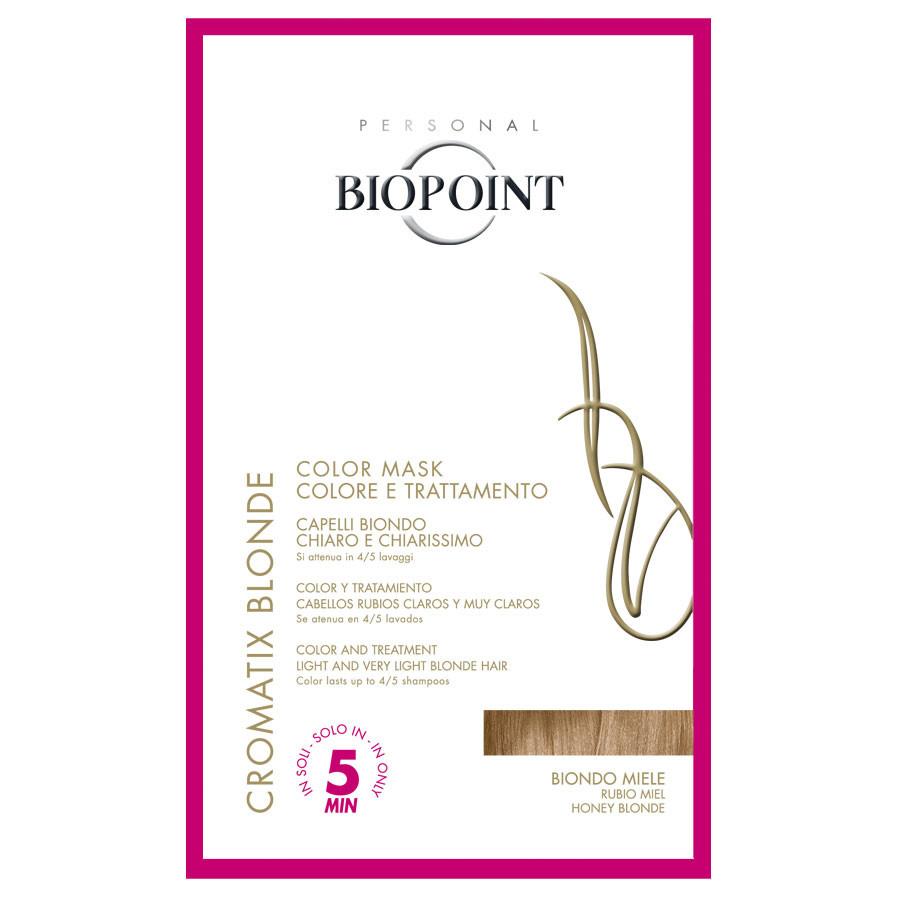 Biopoint Cromatix Blonde Color Mask Biondo Miele monodose 30 ml ( trattamento colorante per capelli biondo chiaro e chiarissimo )