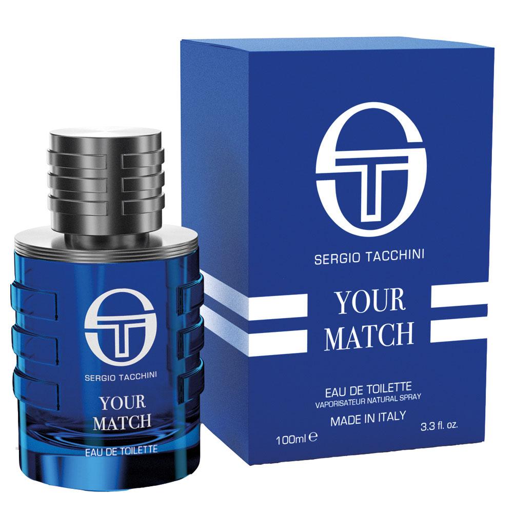 Sergio Tacchini Your Match eau de toilette 100 ml spray