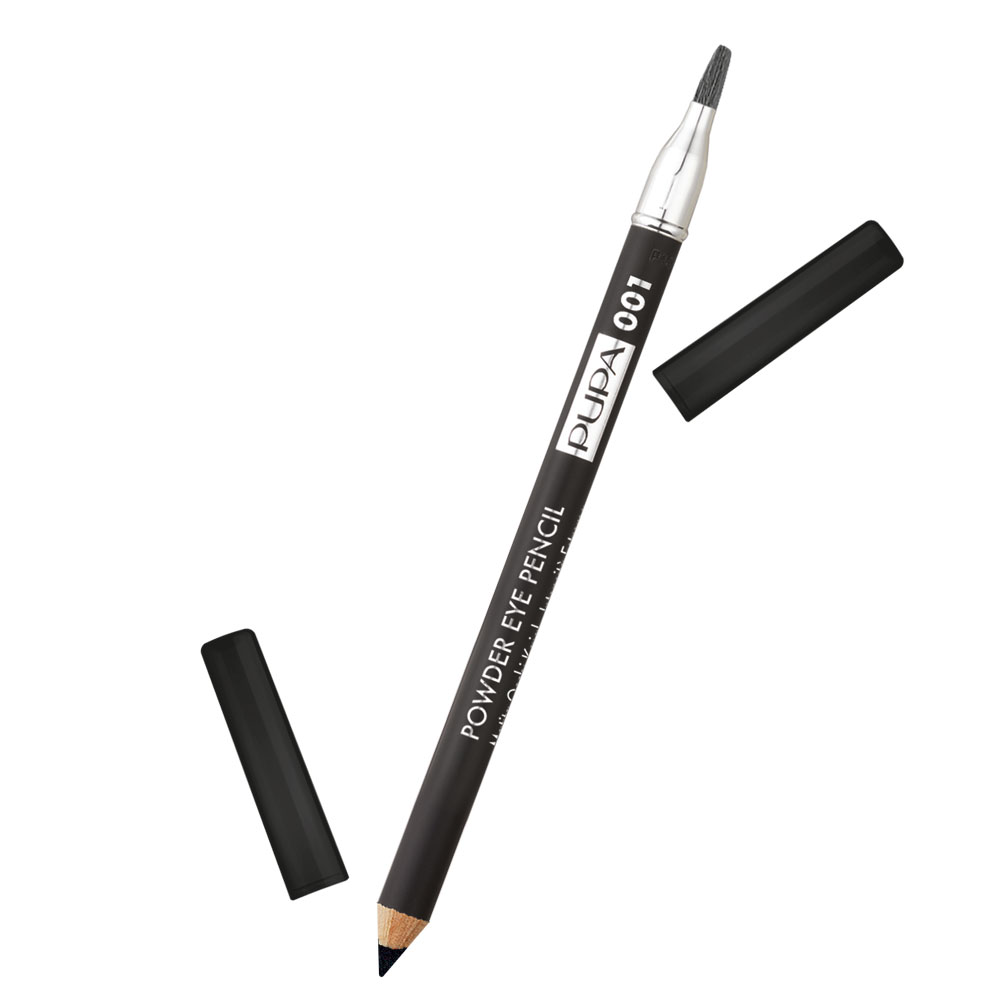 Pupa Powder Eye Pencil n. 001 powdery black