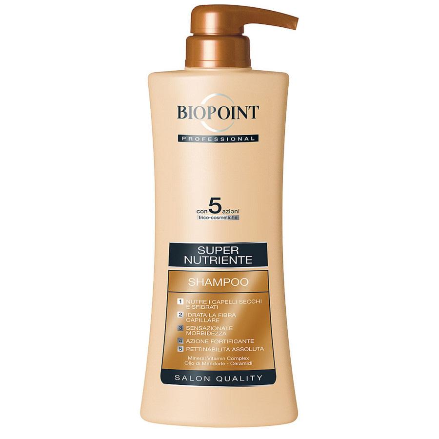 Biopoint Professional Linea Supernutriente Shampoo 400 ml ( azione idratante con estratti di soia per capelli secchi e sfibrati )