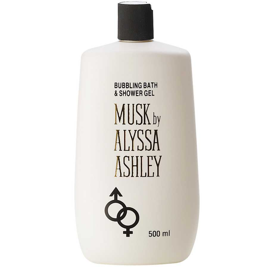 Alyssa Ashley Musk Shower Gel 500 ml ( bagno schiuma )